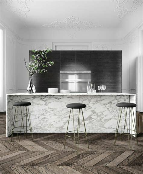 creer un bar dans une cuisine on vous présente la table en marbre