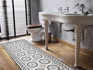 Adhesif Carreau De Ciment : un tapis adh sif carreaux de ciment ~ Premium-room.com Idées de Décoration