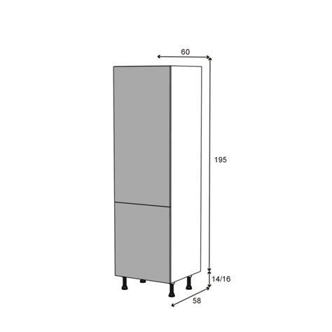cuisine oskab armoire frigo n 2721 2 portes l60xh195xp58 ginko gris oskab
