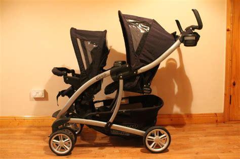 Graco Quattro Tour Duo Tandem Pushchair Travel System For