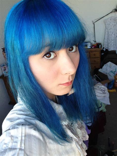 Midnight Blue Hair Fading Over Time Hair Colors Ideas