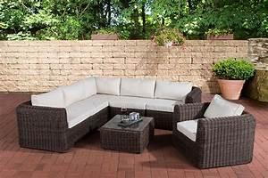 Rattanmöbel Garten Lounge : polyrattan gartengarnitur marbella gartenset sitzgruppe lounge set rattanm bel ebay ~ Markanthonyermac.com Haus und Dekorationen