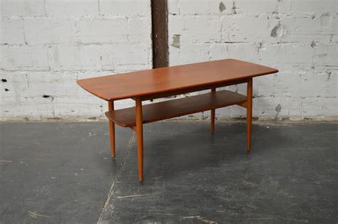 mid century modern coffee table book mid century modern swedish teak coffee table with shelf