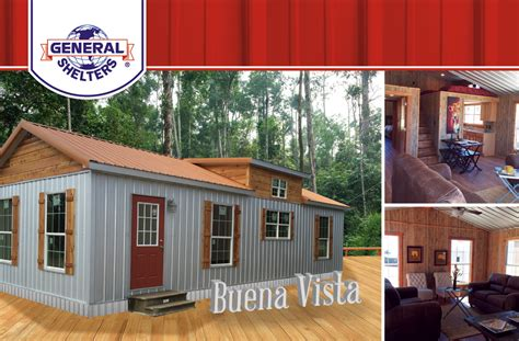 general shelters cabins general shelters cabins finished portable 16x40 cabin