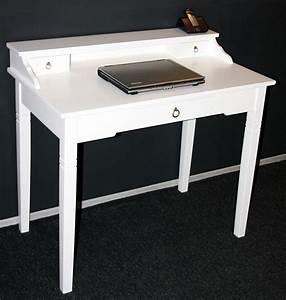 Telefontisch Weiß Hochglanz : massivholz sekret r konsolentisch schreibtisch holz massiv wei ~ Markanthonyermac.com Haus und Dekorationen