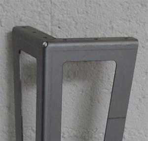 Pied De Table Basse Metal Industriel : pied de meuble design ajour pour cr er votre mobilier ~ Teatrodelosmanantiales.com Idées de Décoration