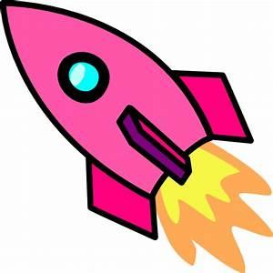 Pink Rocket Clip Art at Clker.com - vector clip art online ...