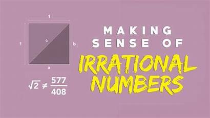 Irrational Numbers Sense Kidpid Making