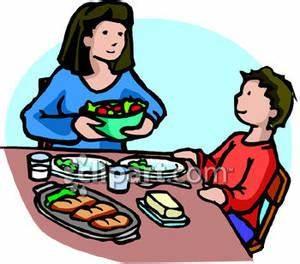 Eat Dinner Clipart (71+)