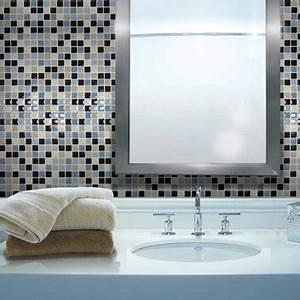carrelage adhesif salle de bain smart tiles carreaux mosaique With carrelage adhesif salle de bain avec lampe led jardin