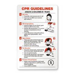 Red Cross CPR Wallet Cards
