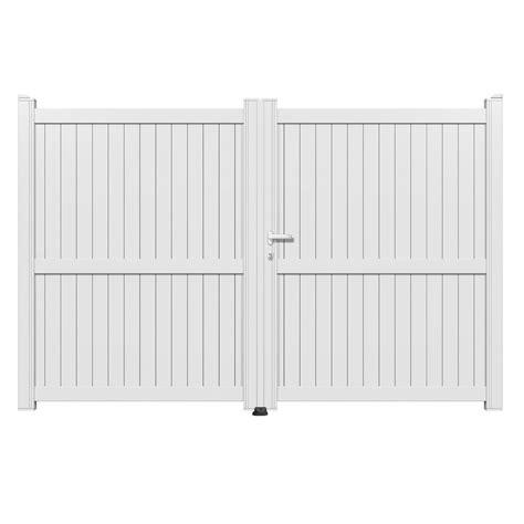 leroy merlin portail pvc portail battant aluminium matisse blanc primo l 300 x h 180 cm leroy merlin