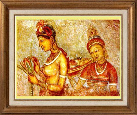 sigiriya srilanka classic art