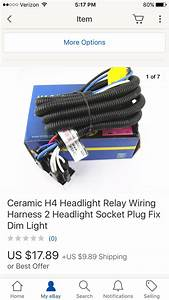 Scout Ii Headlight Relay Harness