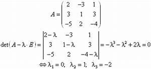 Eigenwert Matrix Berechnen : kapitel 3 matrizen matrixalgebra ~ Themetempest.com Abrechnung