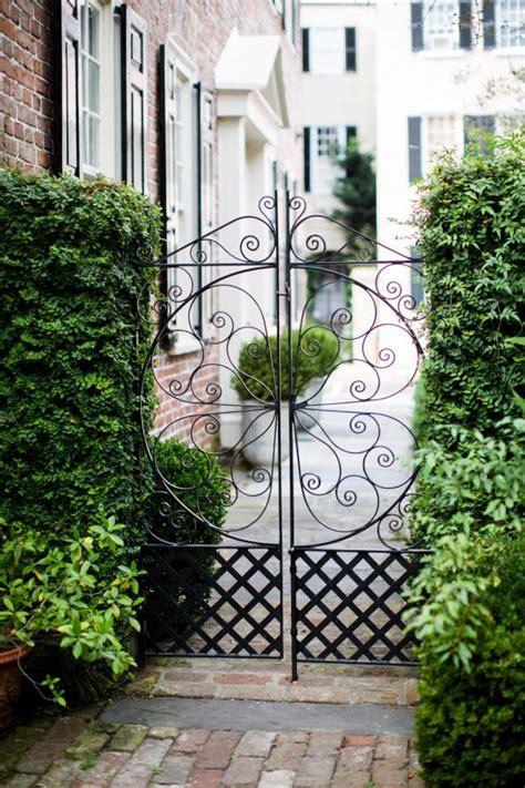 iron garden gates ideas  pinterest wrought
