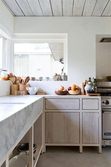modele plan de travail cuisine modele de cuisine en bois avec marbre mzaol com