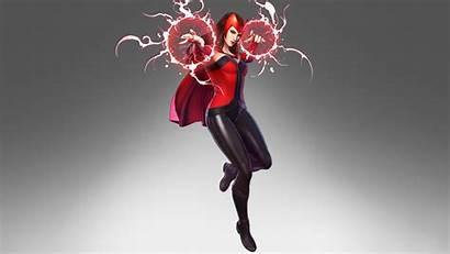 Scarlet Marvel Witch Alliance Ultimate 8k E3