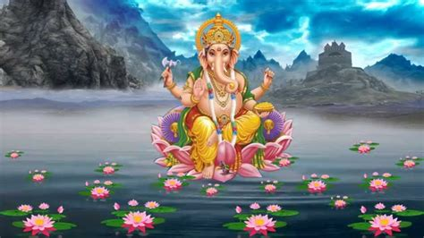 Lord Ganesha Animated Wallpapers - ganesha water animated background downloads
