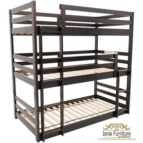 Harga Klakat 1 Susun 49 tempat tidur tingkat kayu minimalis jual harga murah