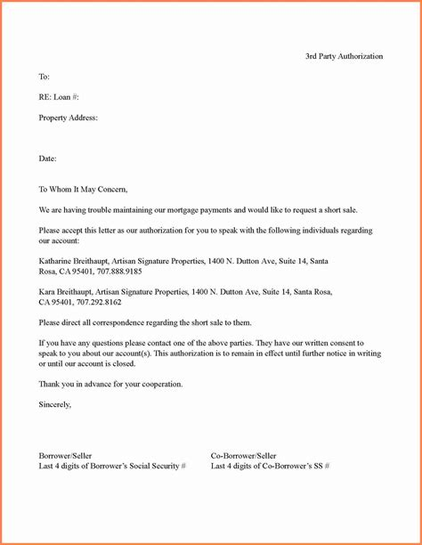bpi authorization letter  party sample printable