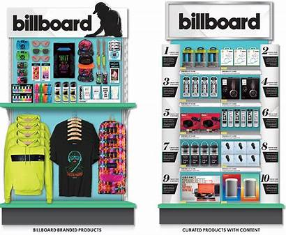 Billboard Retail Display Endcaps Curated Confirmed Containing