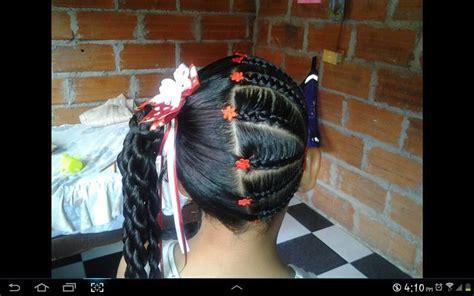 peinados  trenzas  ninas  decoracion de