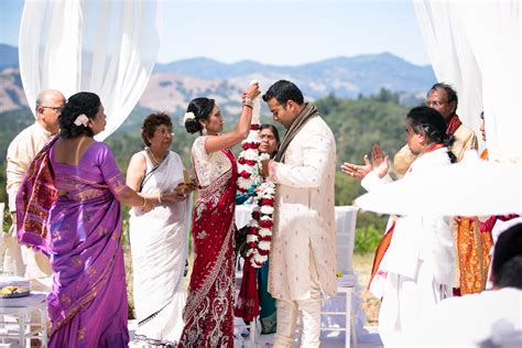 Traditional Indian Wedding At The Chalk Hill Winery Two