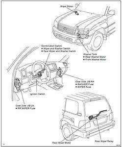 Toyota Land Cruiser  Wiper And Washer System