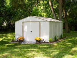 10x14 Arrow Shed Assembly by Arrow Oakbrook 10x14 Metal Shed Ob1014 C1 Free Shipping
