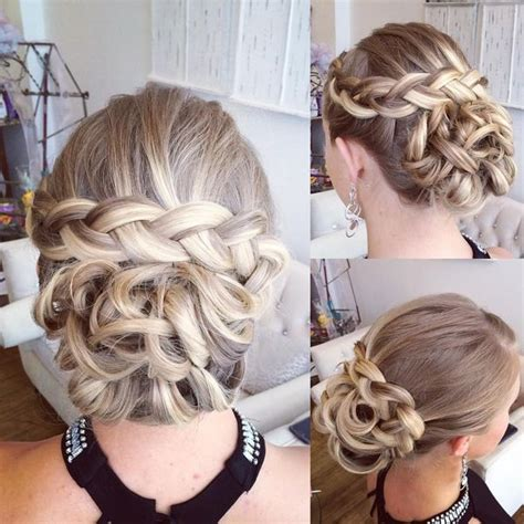 fresh prom updos  long hair august