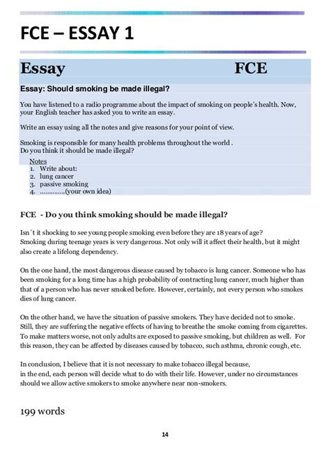 fce cae real writing examples