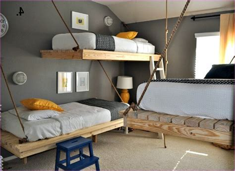 DIY Bunk Bed Designs Ideas for Small Rooms   EVA Furniture