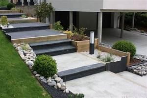 Escalier Terrasse Extérieur Jardin. jouplast solutions constructives ...