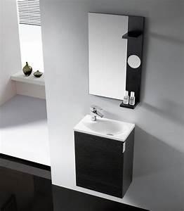 Badmöbel 2 Waschbecken : badm bel g ste wc oporto waschbecken waschtisch handwaschbecken wenge weiss 40 ebay ~ Markanthonyermac.com Haus und Dekorationen