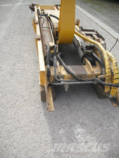 volvo ac hook lift system articulated dump truck