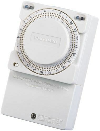 immersion heater timer switch timeguard 24 hour timer controller ts900n ebay