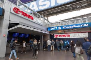 toyota fan deck tickets welcome to the new fan friendly yankee stadium