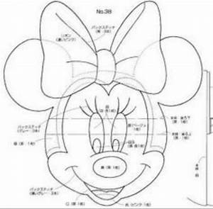 Minnie face templates pinterest felting and craft for Minnie mouse cake template free
