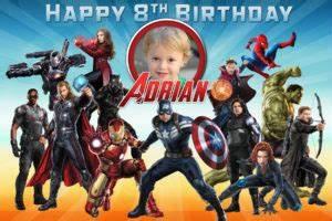 Avengers Invitation Design Free Avengers Birthday Tarpaulin Dioskouri Designs