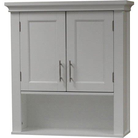 walmart bathroom cabinets riverridge somerset 2 door wall cabinet walmart