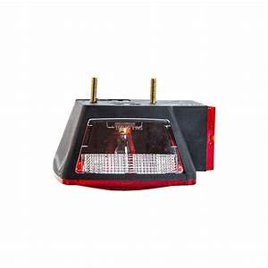 Buyers 5655001 5 U0026quot  Incandescent Red Stop  Turn  Tail Light W