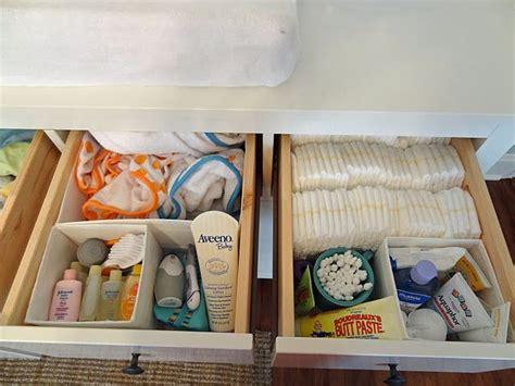changing table organization ideas hemnes drawer organizer idea really thinking that