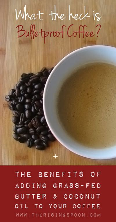 Coconut oil coffee is often recommended as a good beverage to drink before going to work in the morning as it claims to improve productivity. What To Do With Leftover Almond Pulp | The Rising Spoon