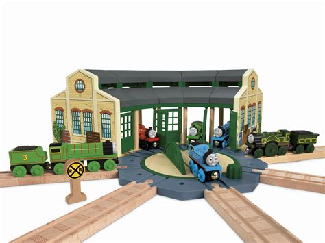 the tidmouth sheds playset tidmouth sheds by fisher price totally inc