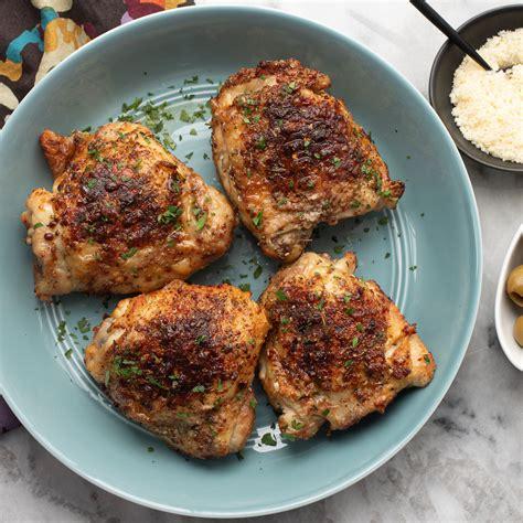 fryer chicken air thighs foodi ninja grill