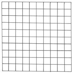foto de Printable Blank 100 Square Grid Math Pinterest 100