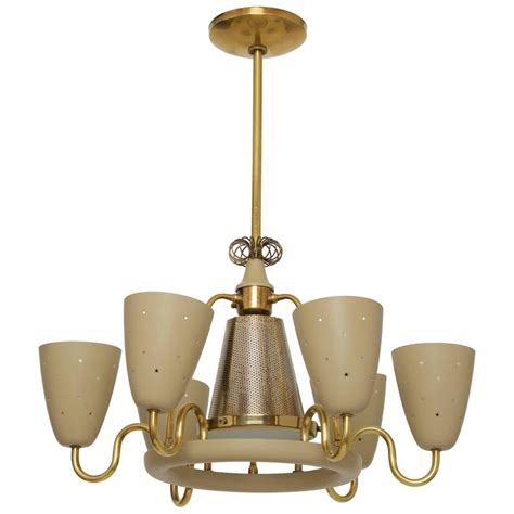 Lightolier Chandelier by Lightolier Chandelier In The Style Of Paavo Tynell For