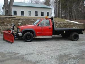 Purchase Used Chevy 3500 4x4 Diesel Dually Flatbed Boss 9