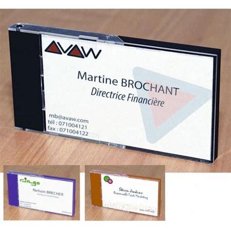 porte carte de visite de bureau porte noms comparez les prix pour professionnels sur